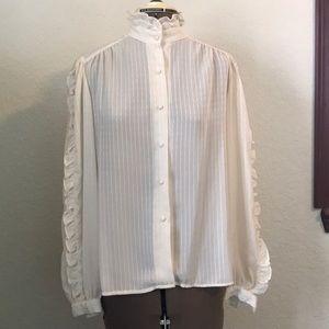 Vintage Alexandria blouse